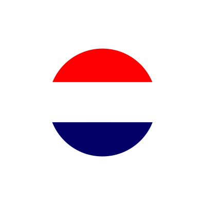 Made in the Netherlands white